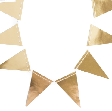 Gold Wired Ribbon