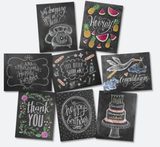 Everyday Note Cards - Assorted - Print&Paper