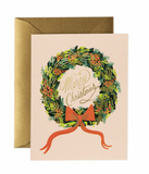 Christmas Wreath Card - Print&Paper