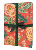 Jardin Noel Wrapping Sheets - roll of 3 - Print&Paper