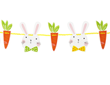 Carrot and Rabbit Easter Garland - Print&Paper
