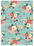 Garden Party / Botanical Single Wrap Sheets - Print&Paper