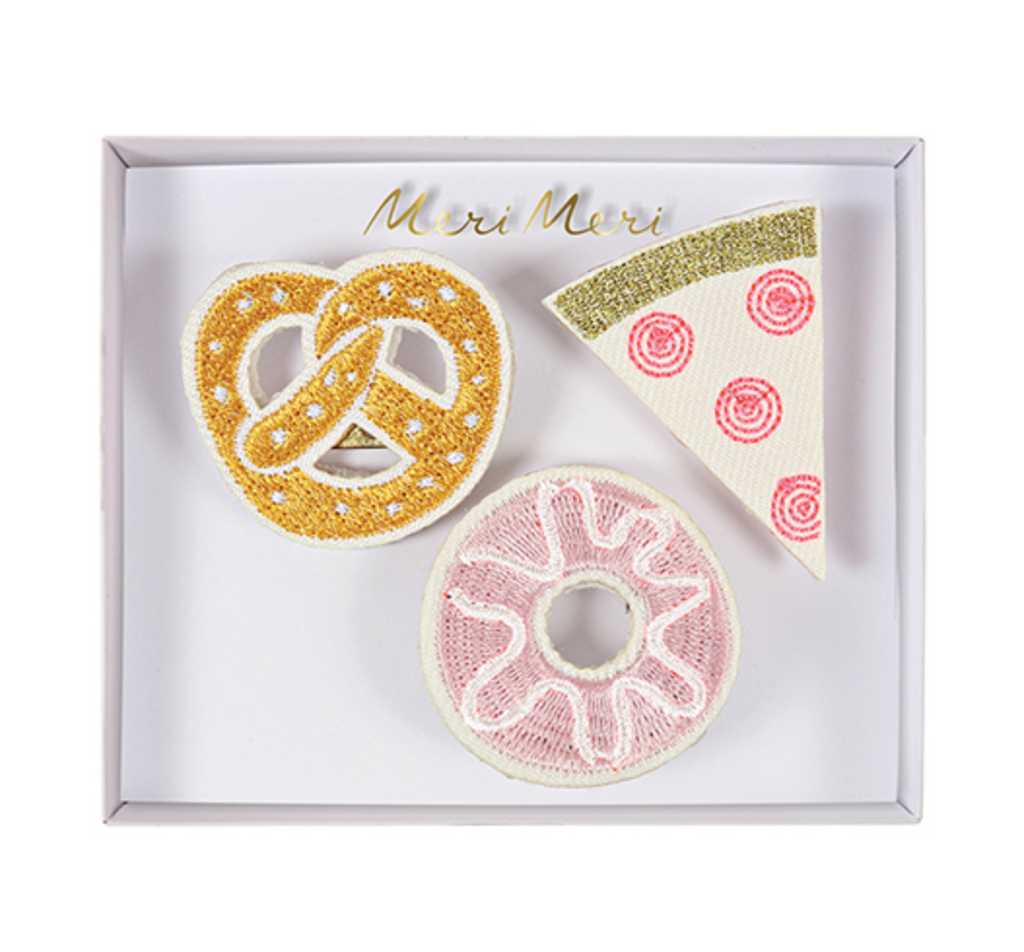Snack Brooches - Print&Paper