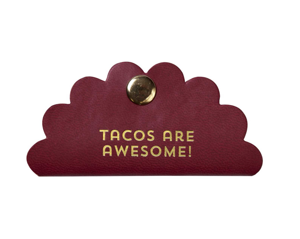 Tacos Are Awesome Cord Keeper