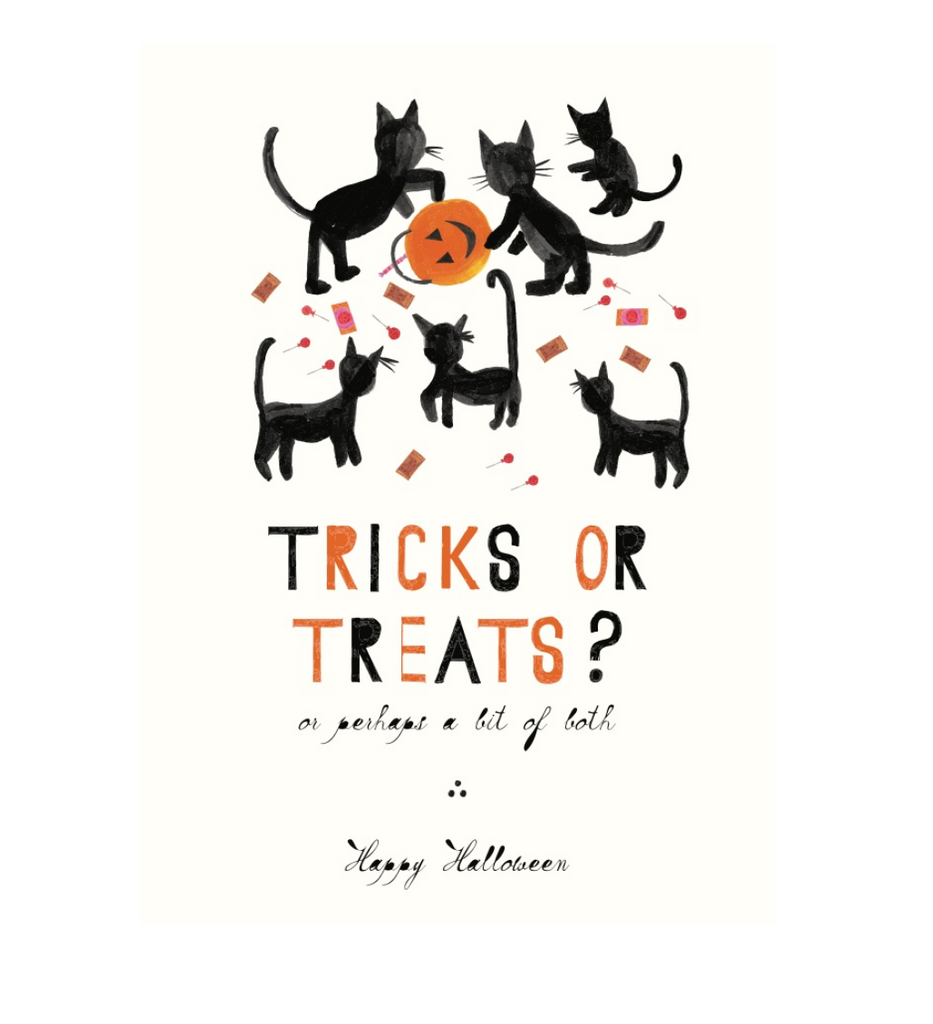 Trick or Treats Halloween Card