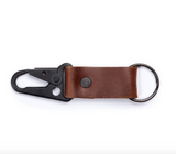 Leather Carabiner Keychain