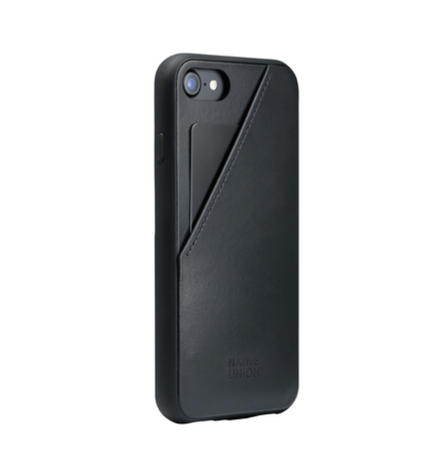 CLIC Card iPhone Case, Black 7/8