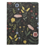 floral hard cover notebook