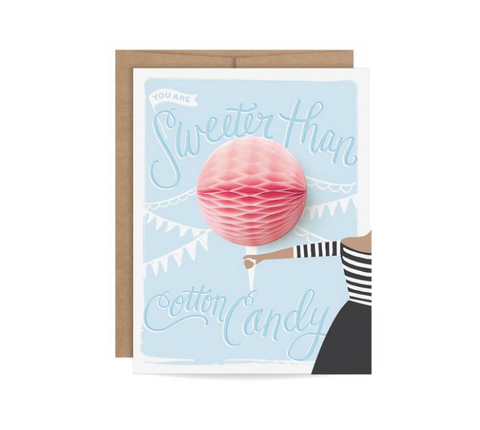 Giftable Pom Pom Earrings Card
