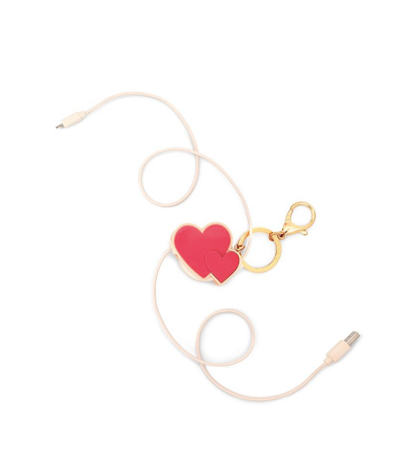 Cluster Hearts - Retractable Charging Cord