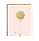 Pink/Gold Balloon Scratch-Off