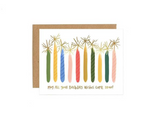 1Canoe2 Birthday Candles Card