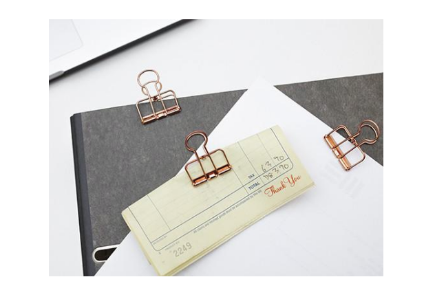 Rose Wire Clips