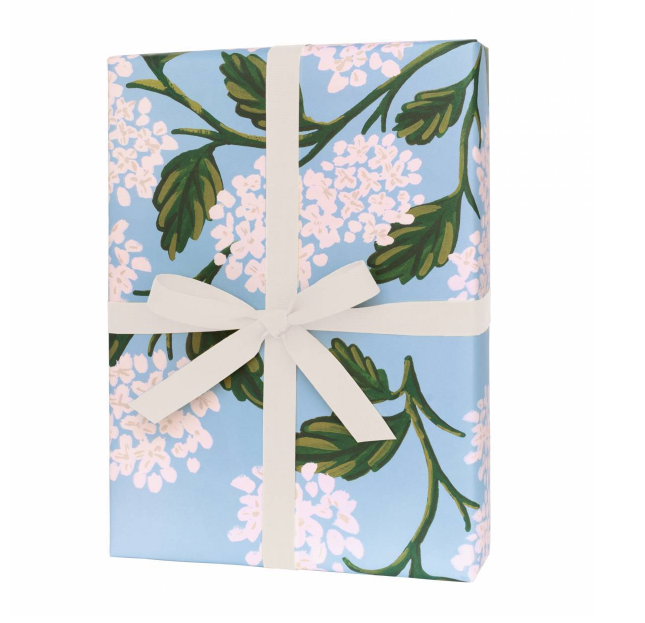 Hydrangea Wrapping - Roll of 3 Sheets