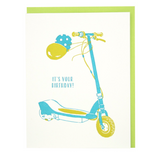 Let's Scoot Birthday Card