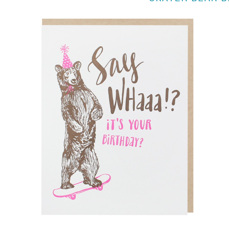 Skateboard Birthday Card