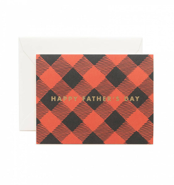 Father's Day Plaid Card - Print&Paper