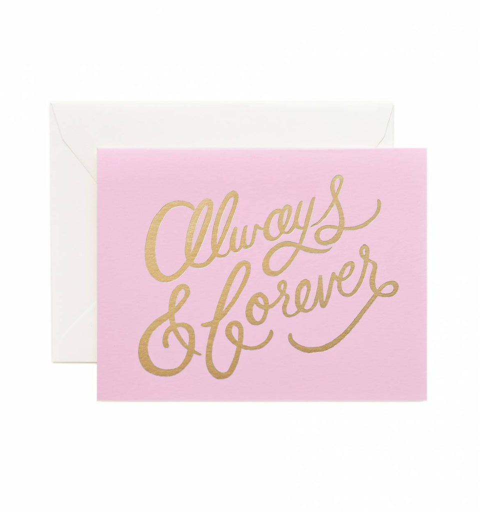 Always & Forever Card - Print&Paper