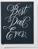 Best Dad Ever Card - Print&Paper