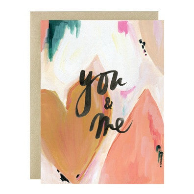 You & Me Card - Print&Paper