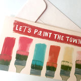 Let's Paint the Town Birthday