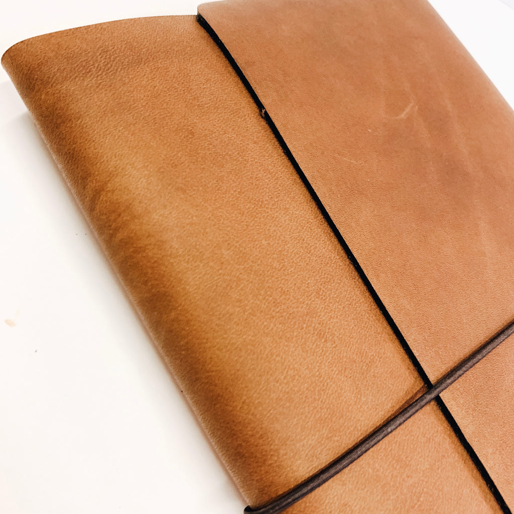 Brown Leather Fillions (size options)