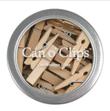 Mini Wooden Clips Clothespins