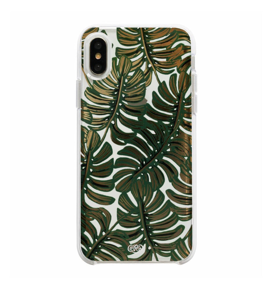 Clear Monstera iPhone X