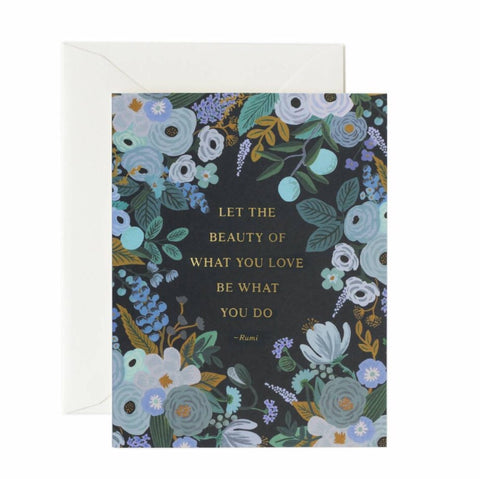 Freedom Books Flowers - Quotable Card