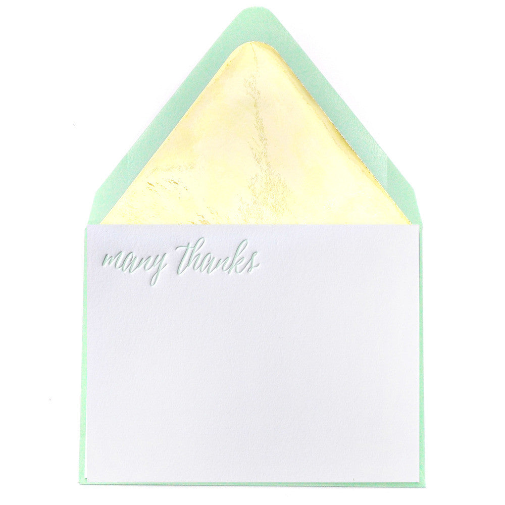 Gracious in Gold Notes - Mint - Print&Paper