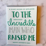 Round of Applause Dad Card - Print&Paper