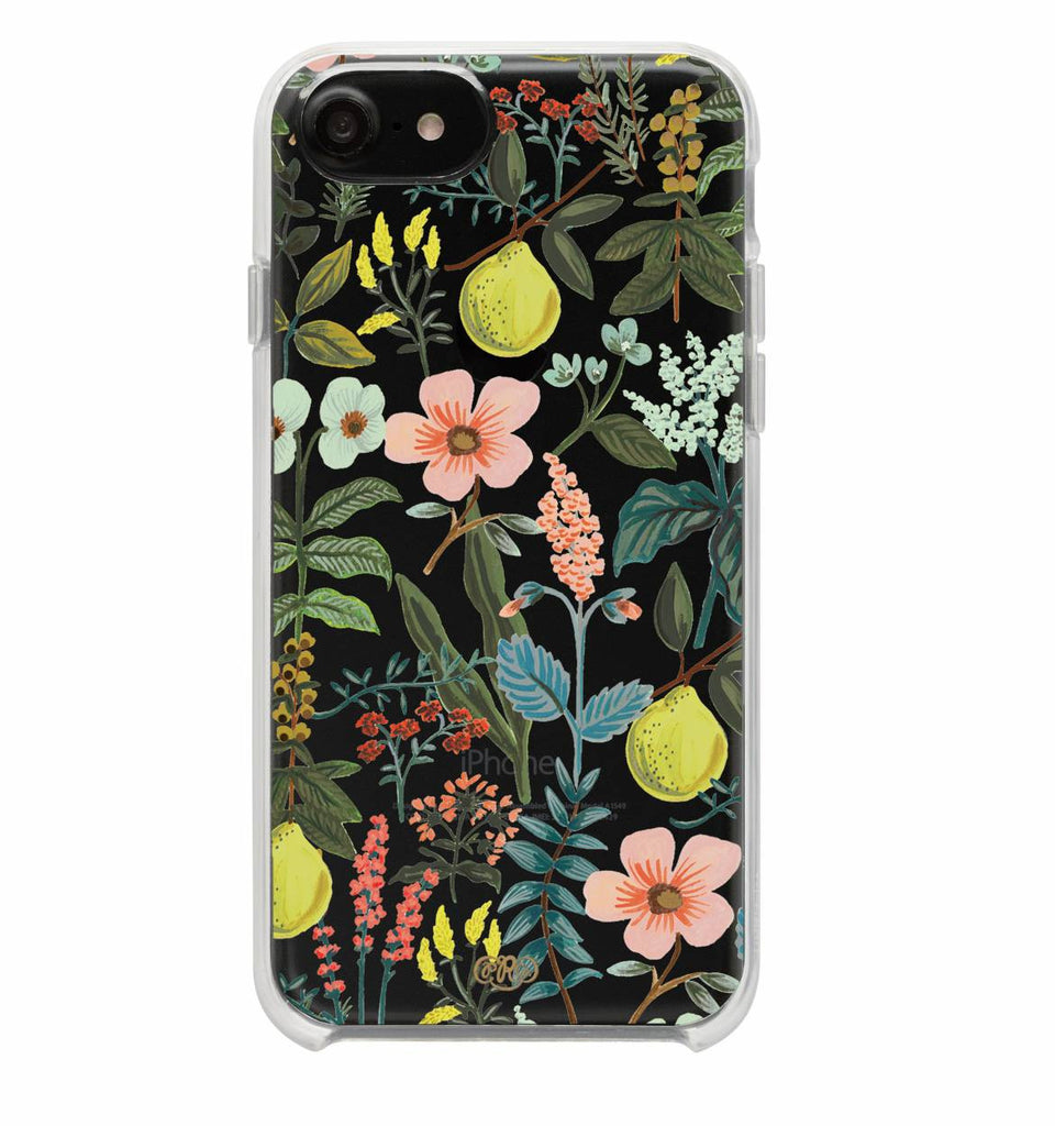 Clear Herb Garden iPhone Case (size options) - Print&Paper