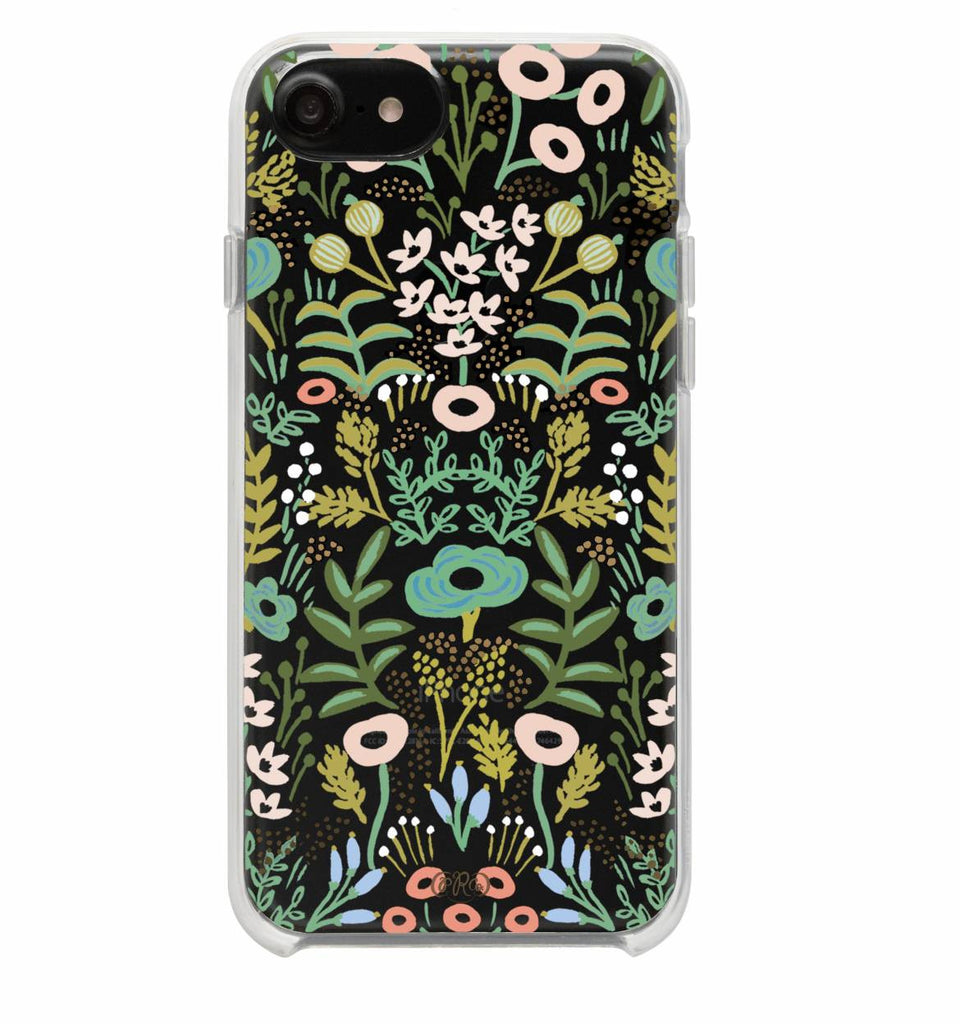 Clear Tapestry iPhone Case (size options) - Print&Paper