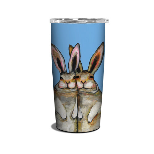 bunny friends insulated cup