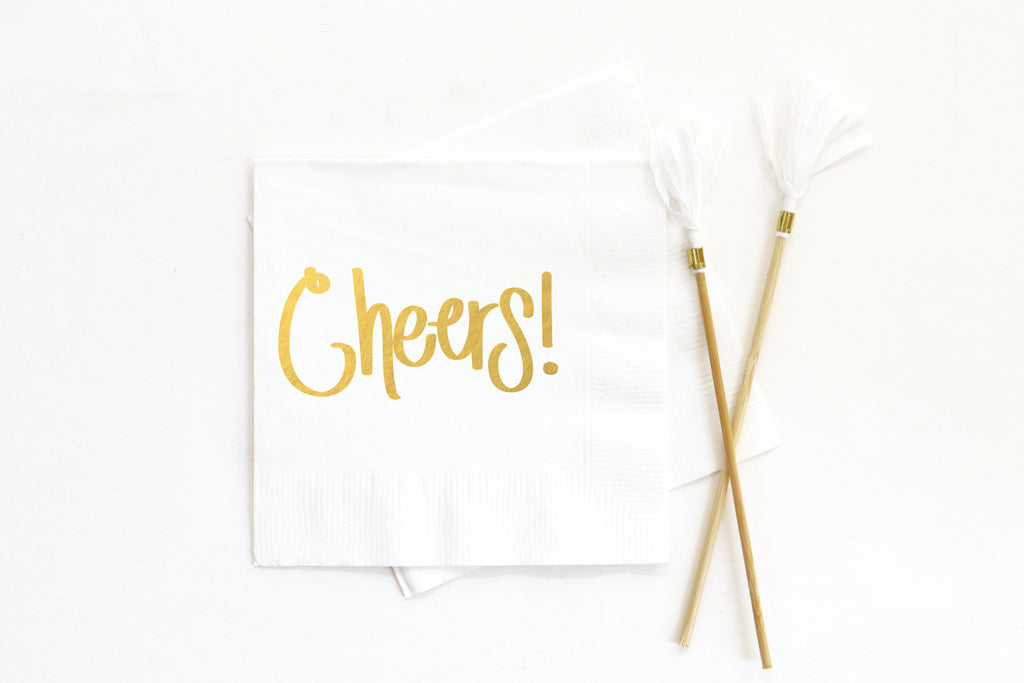 Cheers Napkins (choose color)