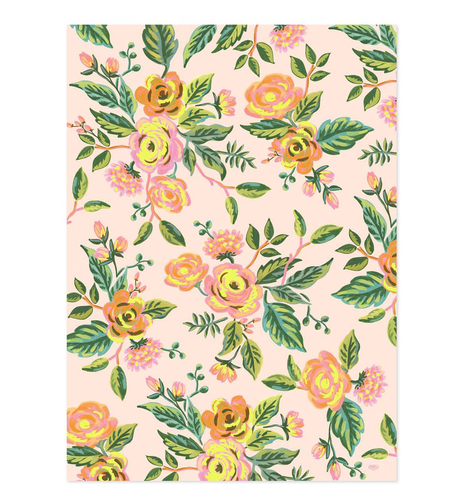 Jardin de Paris Wrapping Sheets - roll of 3 - Print&Paper