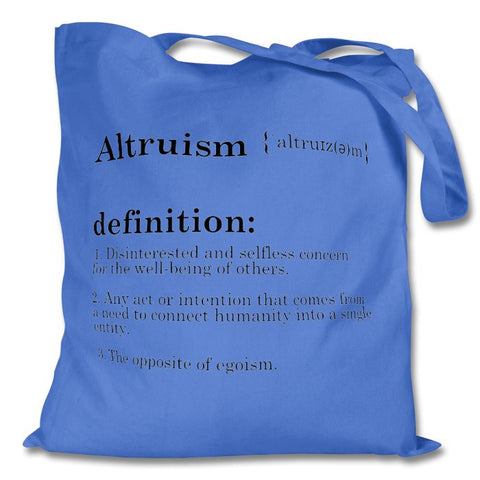 Altruism Definition Bag, Blue