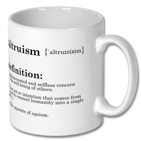 Altruism Definition Cup