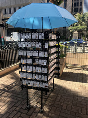 Pop-Up Stand Ford Street Mall Honolulu
