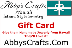 Abby's Crafts Hawaii Gift Cards