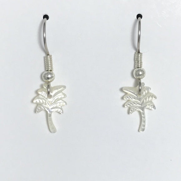 Coconut Tree Earrings