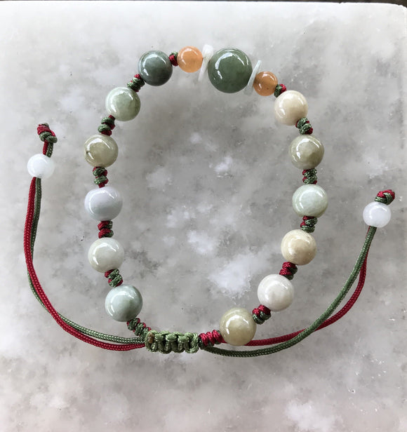 Jade Bracelet - Adjustable