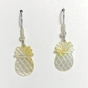 Pineapple Earrings (Mother of Pearl Shell)