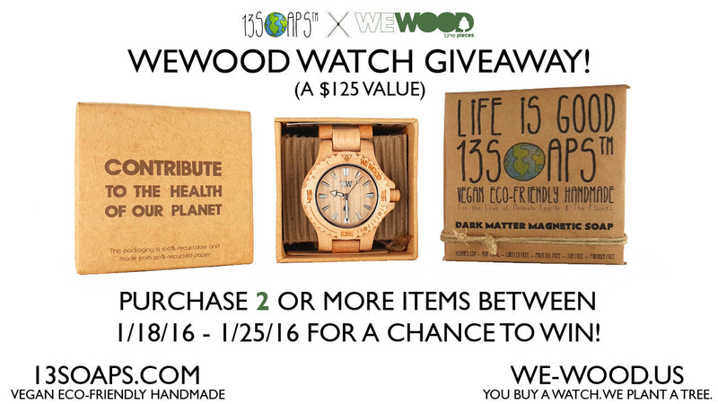 WeWOOD Watch Giveaway!