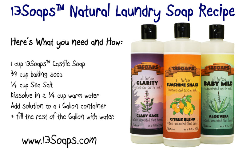 How to Get the Most out of your castile Soap!