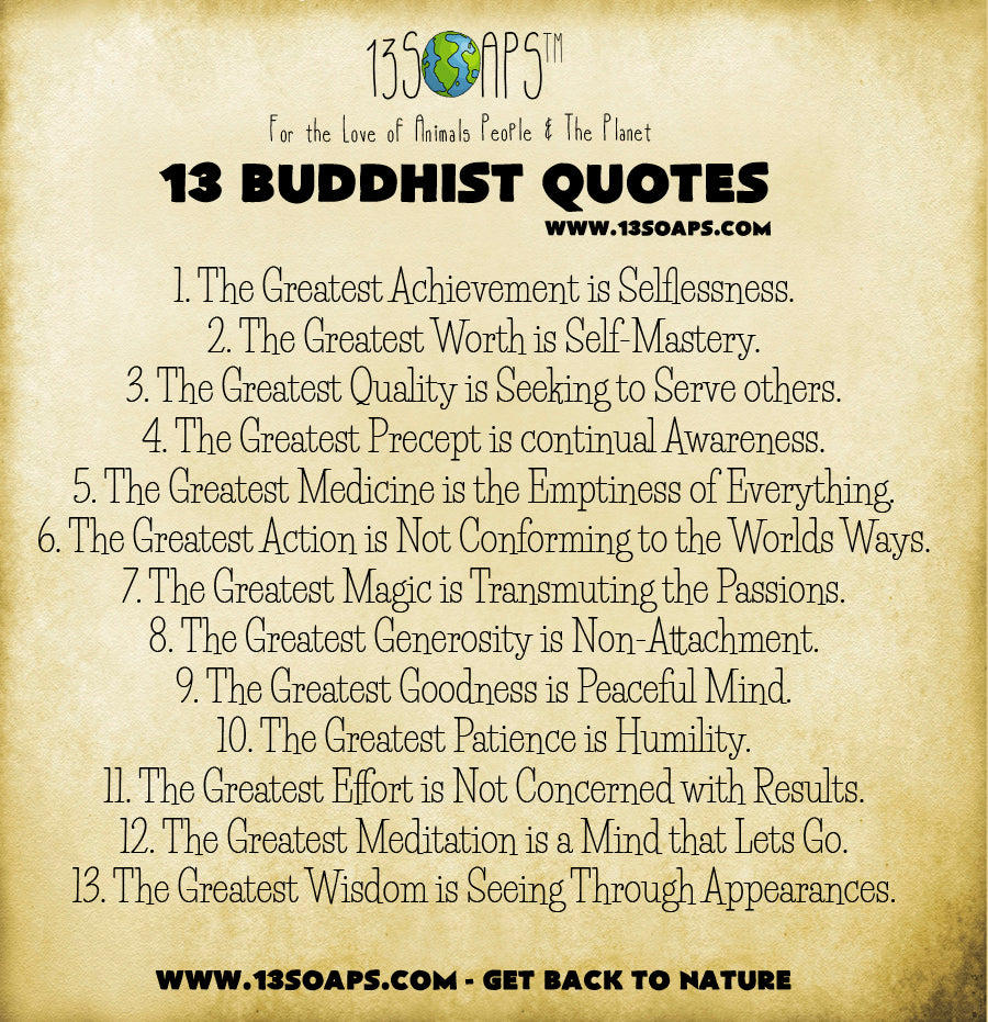 Buddhist Quotes On Love 13 Buddhist Quotes  13Soaps™