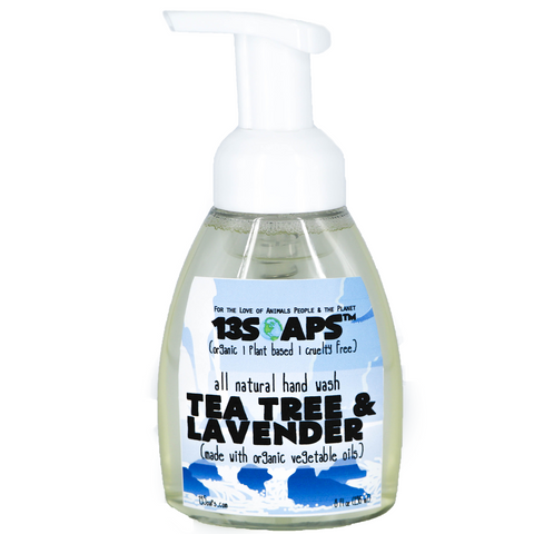 Tea Tree & Lavender Foaming Hand Soap (Antiseptic)