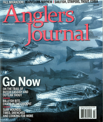 Anglers Journal Fall 2016 Cover