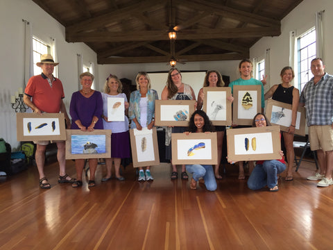 Catalina Art Workshop Nature Painting
