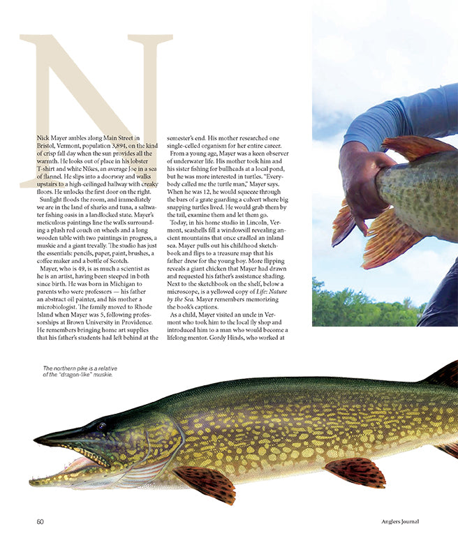 article anglers journal